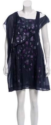 Chloé Embellished Chiffon Dress w/ Tags