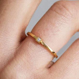 4087a17cb Arabel Lebrusan Peace Ethical Fairtrade Diamond Engagement Ring