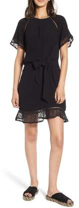 Heartloom Ansel Lace Trim A-Line Dress