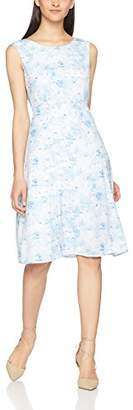 Great Plains Women's Watercolour Haze Open Back Dress,8 (Manufacturer Size:X-Small)