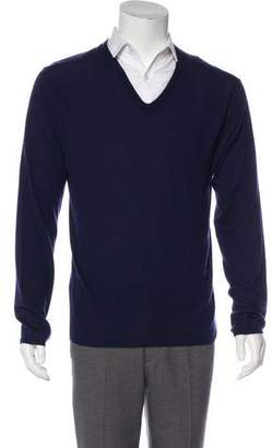 Ralph Lauren Black Label Crew Neck Cashmere Sweater