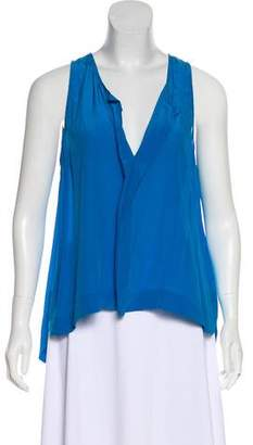 Alice + Olivia V-Neck Sleeveless Top