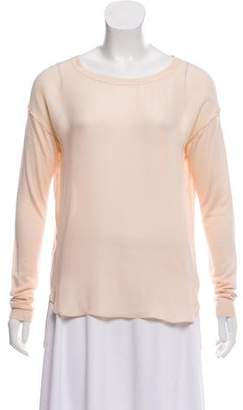 Vince Contrasted Long Sleeve Top