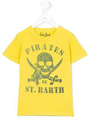 MC2 Saint Barth Kids pirates print Rock T-shirt