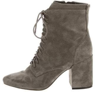 Rebecca Minkoff Suede Pointed-Toe Booties