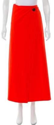 Leroy Eres x Veronique Wrap Midi Skirt