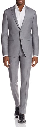 John Varvatos Star USA LUXE Solid Baxter Peak Slim Fit Suit $848 thestylecure.com