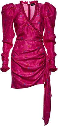 Magda Butrym Carlton Printed Silk Dress