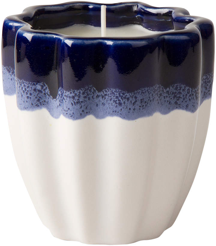 Cobalt Wave Citronella Candle