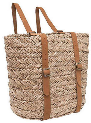 "Olli Ella Usa 14"" Lhasa Backpack - Natural/Tan - OLLI ELLA USA"