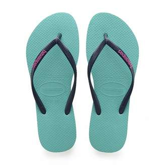 Havaianas Women's Slim Logo Popup Flip Flop Sandal