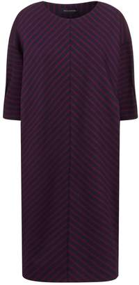 Piazza Sempione Striped Cocoon Dress