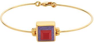 Fendi Rainbow two-tone bracelet