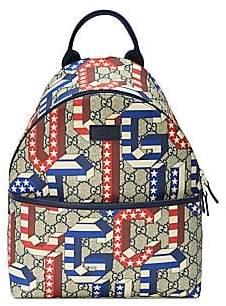 1681a8e01dae Gucci Kid's Game 70 Canvas Backpack