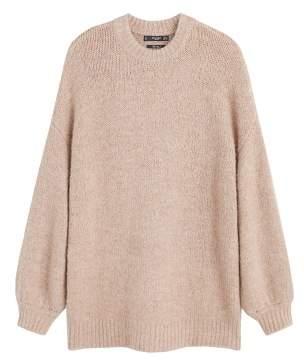 MANGO Long knit sweater