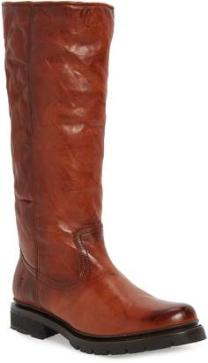 Frye Vanessa Genuine Shearling Lined Knee High Boot