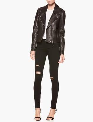 Paige Danette Jacket - Black Leather