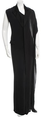 Jean Paul Gaultier One-Shoulder Evening Dress $625 thestylecure.com