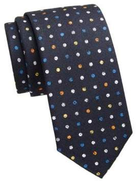 Saks Fifth Avenue COLLECTION Polka Dot Print Tie