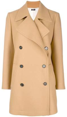 Jil Sander Navy double breasted coat