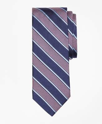 Brooks Brothers Houndstooth Stripe Tie
