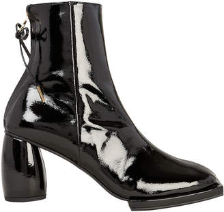 Reike Nen Square Toe Patent Leather Boots