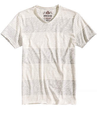 American Rag Men's Topstitched Stripe T-Shirt, Created for Macy's
