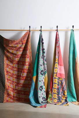 Urban Renewal Vintage One-Of-A-Kind Kantha Throw Blanket