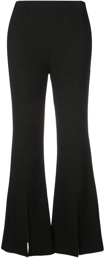 classic flared trousers