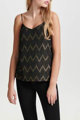 Only Jodie Chevron Top