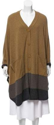 Stella McCartney Wool Color Block Cape w/ Tags