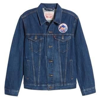 Levi's MLB Mets Denim Trucker Jacket
