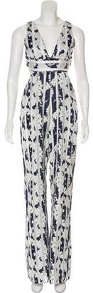 Alexis Sleeveless Wide-Leg Jumpsuit w/ Tags