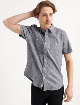Saturday Stretch Linen Chambray Work Shirt
