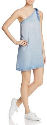 Bella Dahl One-Shoulder Tie Dress $174 thestylecure.com