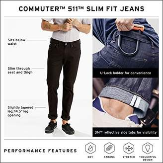 Levi's Men's 511 Slim Fit Commuter Jean