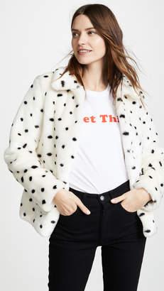 Rebecca Taylor Faux Fur Coat