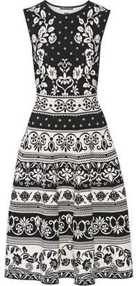 Alexander McQueen Stretch Jacquard-Knit Dress