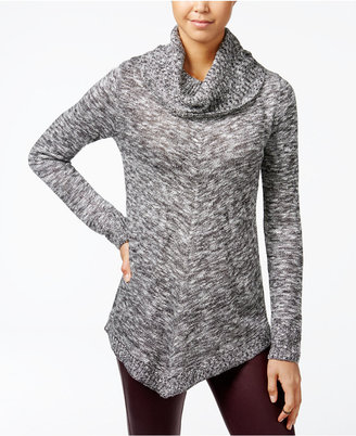 BCX Juniors' Asymmetrical Cowl-Neck Sweater $49 thestylecure.com