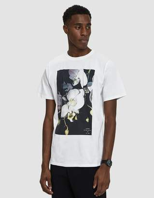 Saturdays NYC S/S White Orchid Tee