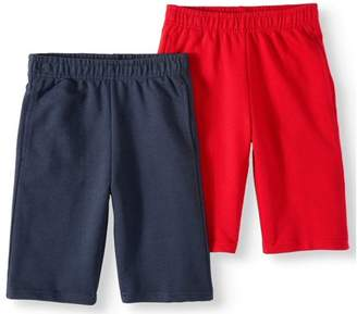 Cherokee Boys' Pull On Jogger Shorts 2 Pack