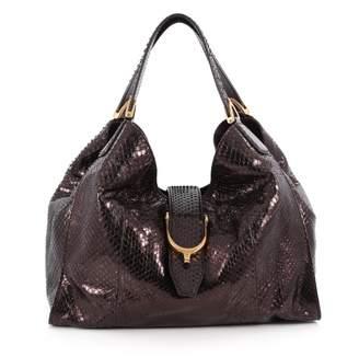 Gucci Purple Leather Handbag