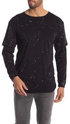Kinetix Artisan Paint Splatter Shirt