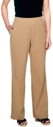 Liz Claiborne New York Petite Gauze Pull-On Pants