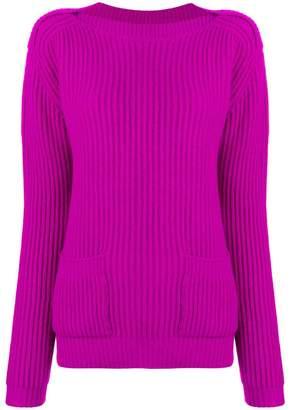 Marc Jacobs ribbed long-sleeve sweater