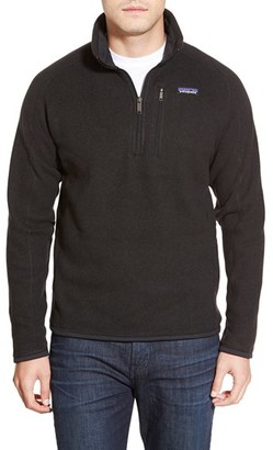 Men's Patagonia 'Better Sweater' Quarter Zip Pullover $99 thestylecure.com
