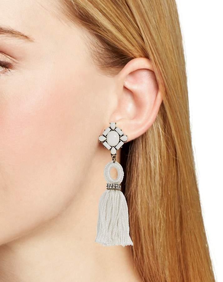 BAUBLEBAR Sohvi Tassel Drop Earrings 2
