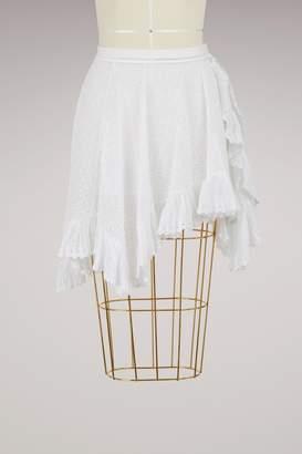 Isabel Marant Zanna ruffled skirt