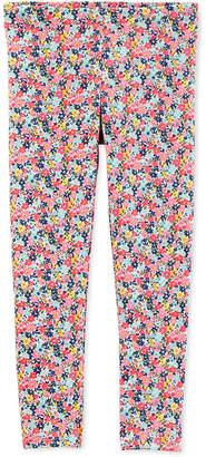 Carter's Baby Girls Floral-Print Leggings