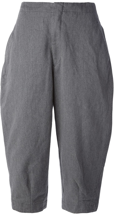 Comme des Garcons cropped cocoon trousers